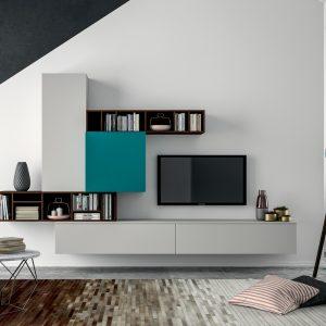 Dallagnese Italian Wall Units for Living Room