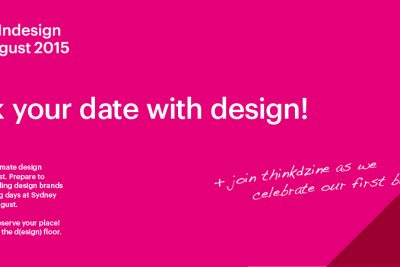 thinkdzine on show at Sydney InDesign 2015